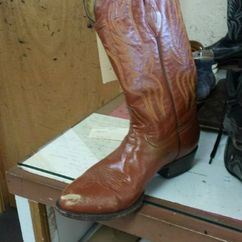 Cowboy Boot-Before